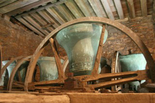Bells at stone in oxney church