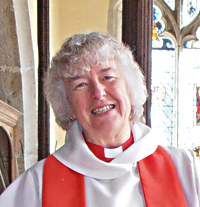 Tricia Fogden, Priest-in-Charge of St Mary the Virgin, Stone-in-Oxney, Kent